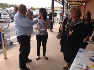 Semaine de prévention du dibète le stand à Propriano
