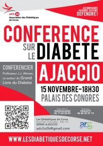 Conférence sur le Diabète à Ajaccio
