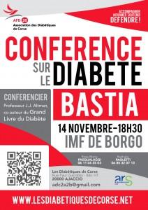Conférence sur le Diabète à Bastia