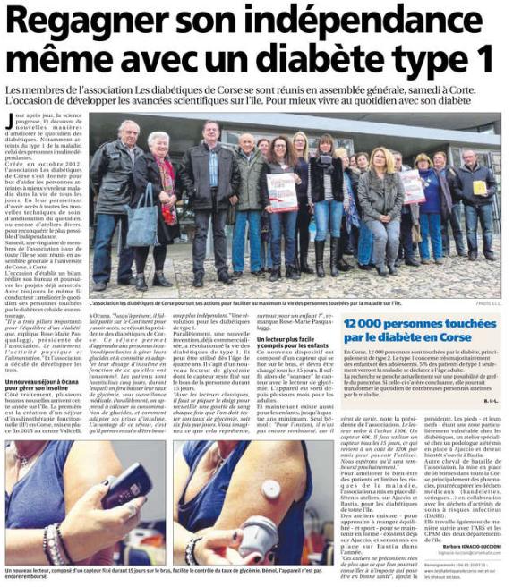 Article corse matin AGO 12 03 2016
