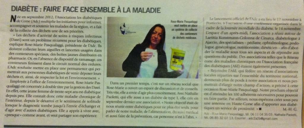 Article du magazine Viva