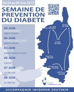 Semaine de prévention du diabete du 03 au 08 juin 2013